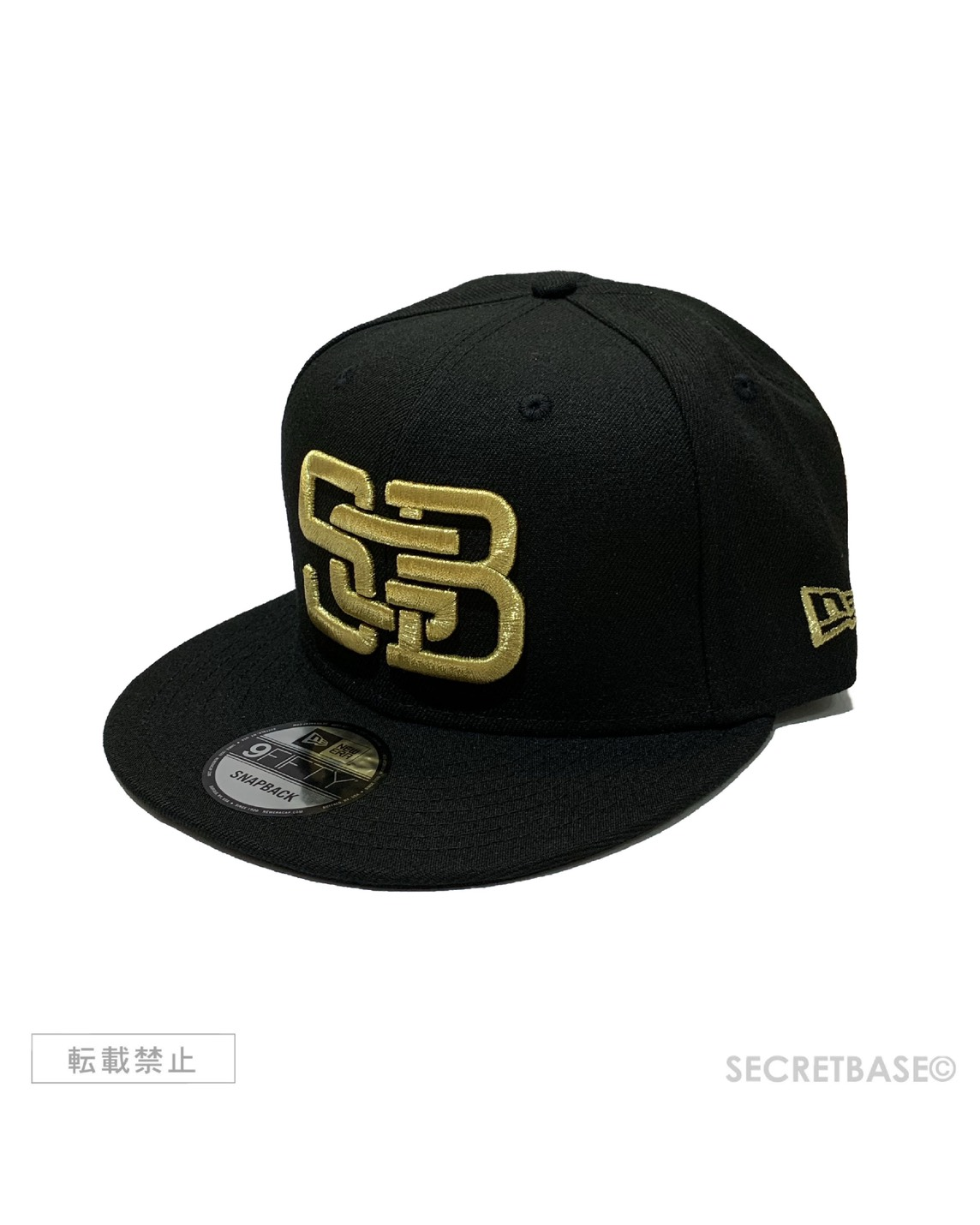 画像1: New Era × SECRETBASE 9FIFTY CAP SBG GOLD Ver. (1)