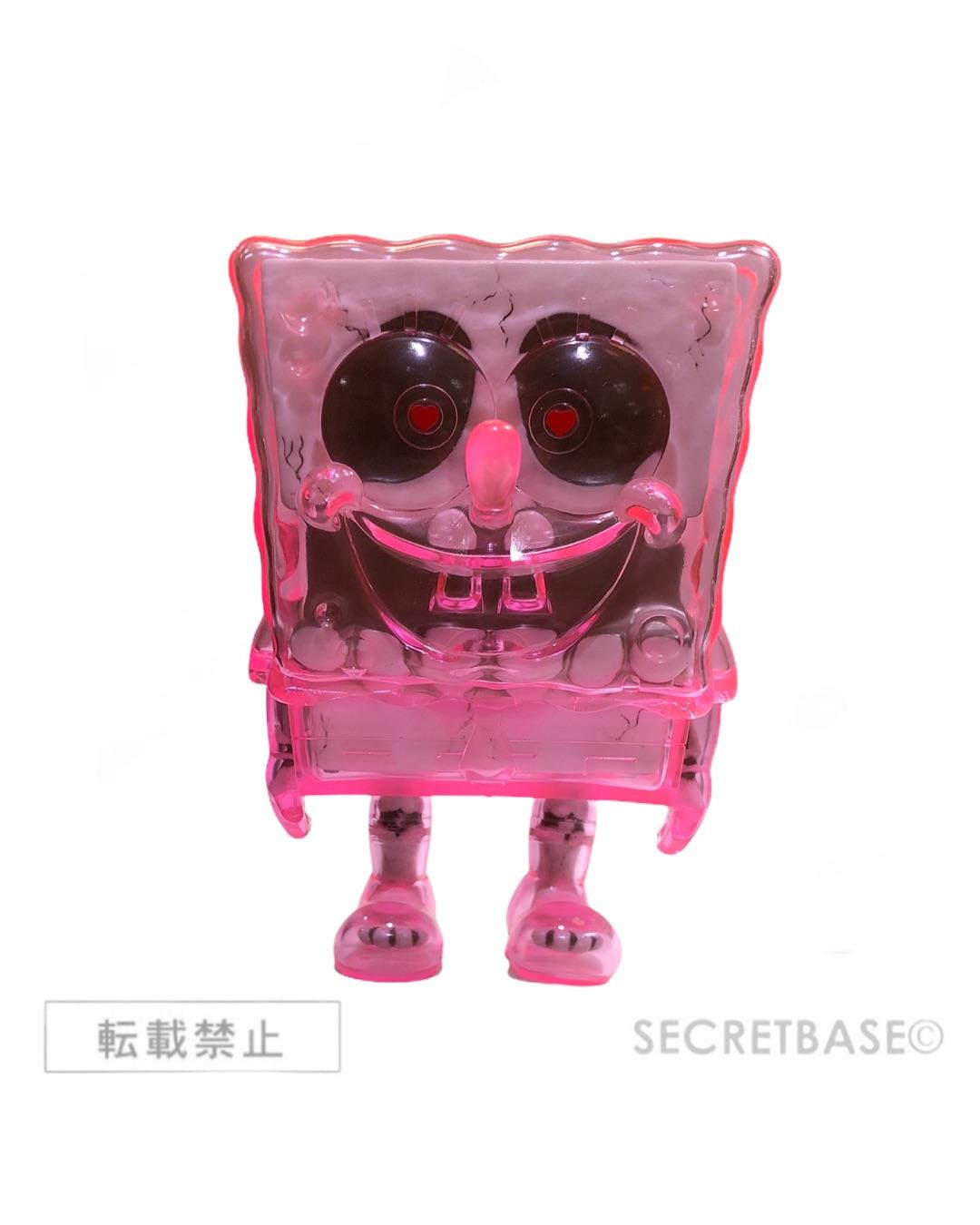 画像1: SPONGEBOB X-RAY NEON PINK HEART EYES Ver. (1)