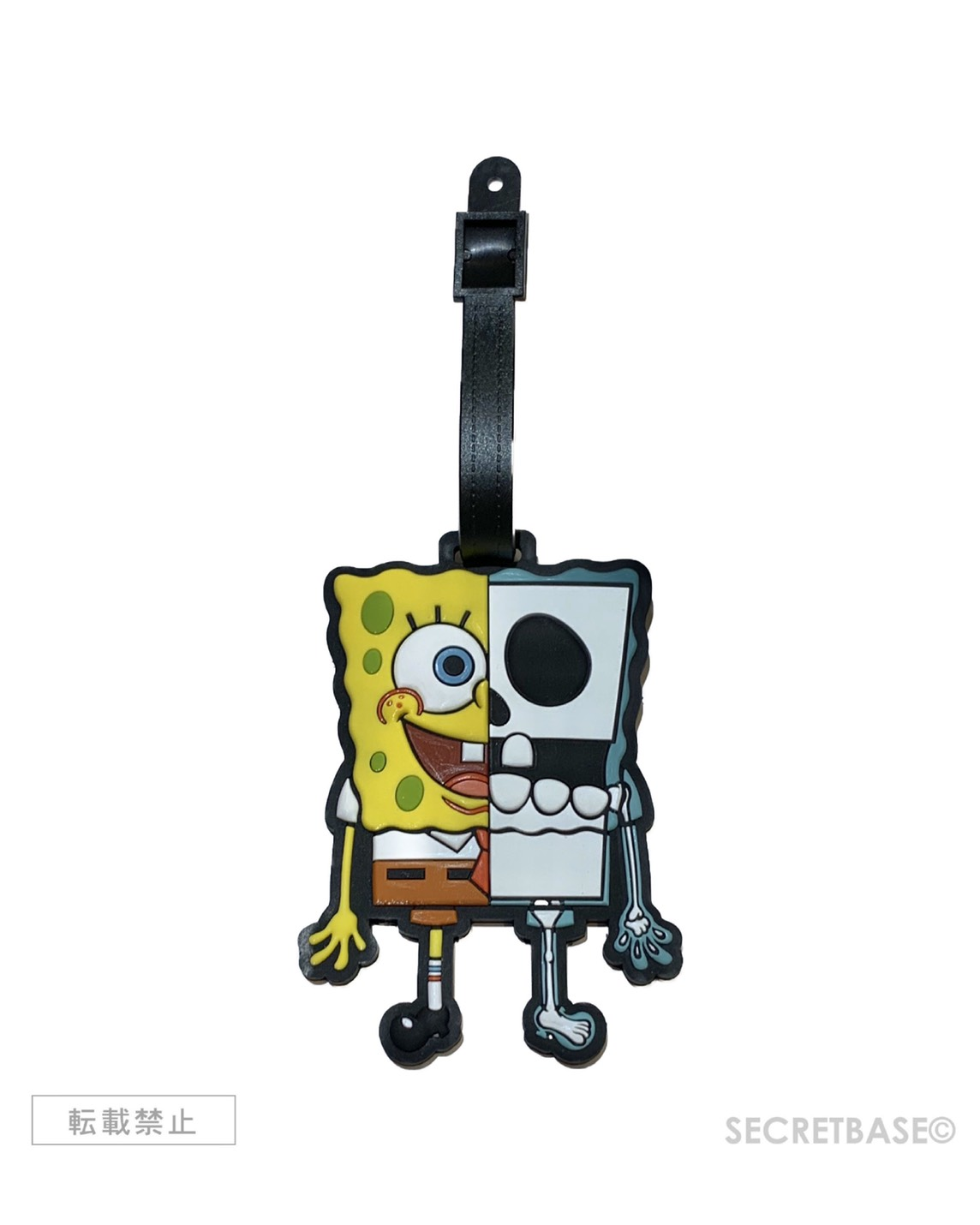 画像1: SECRETBASE ORIGINAL X-RAY SPONGEBOB NAME TAG (1)