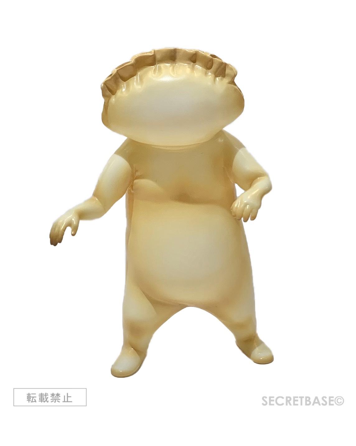 画像1: [焼き上がり前販売用]ギョーザ男(ソフビ人形) [追加生産版] (1)