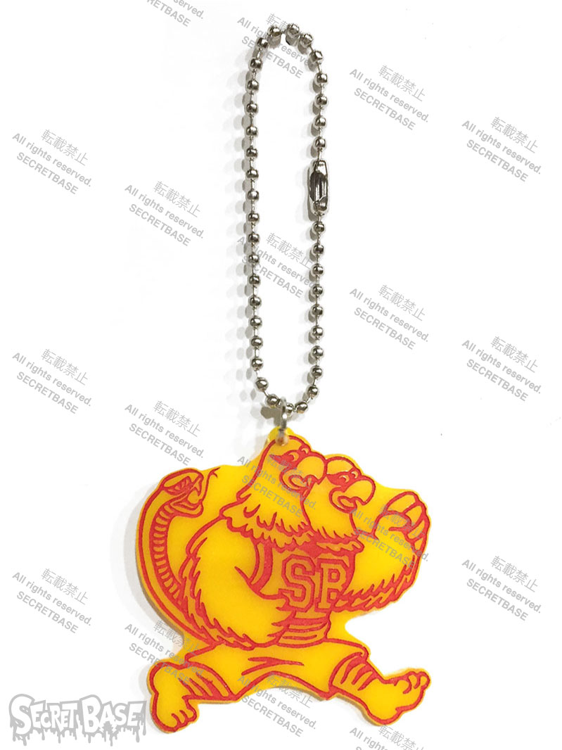 画像1: COLLEGE LOGO KEY PLATE YELLOW (1)