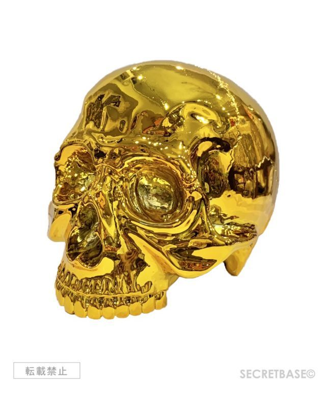 画像1: 1/1 SKULL HEAD CHROME GOLD Ver. (1)