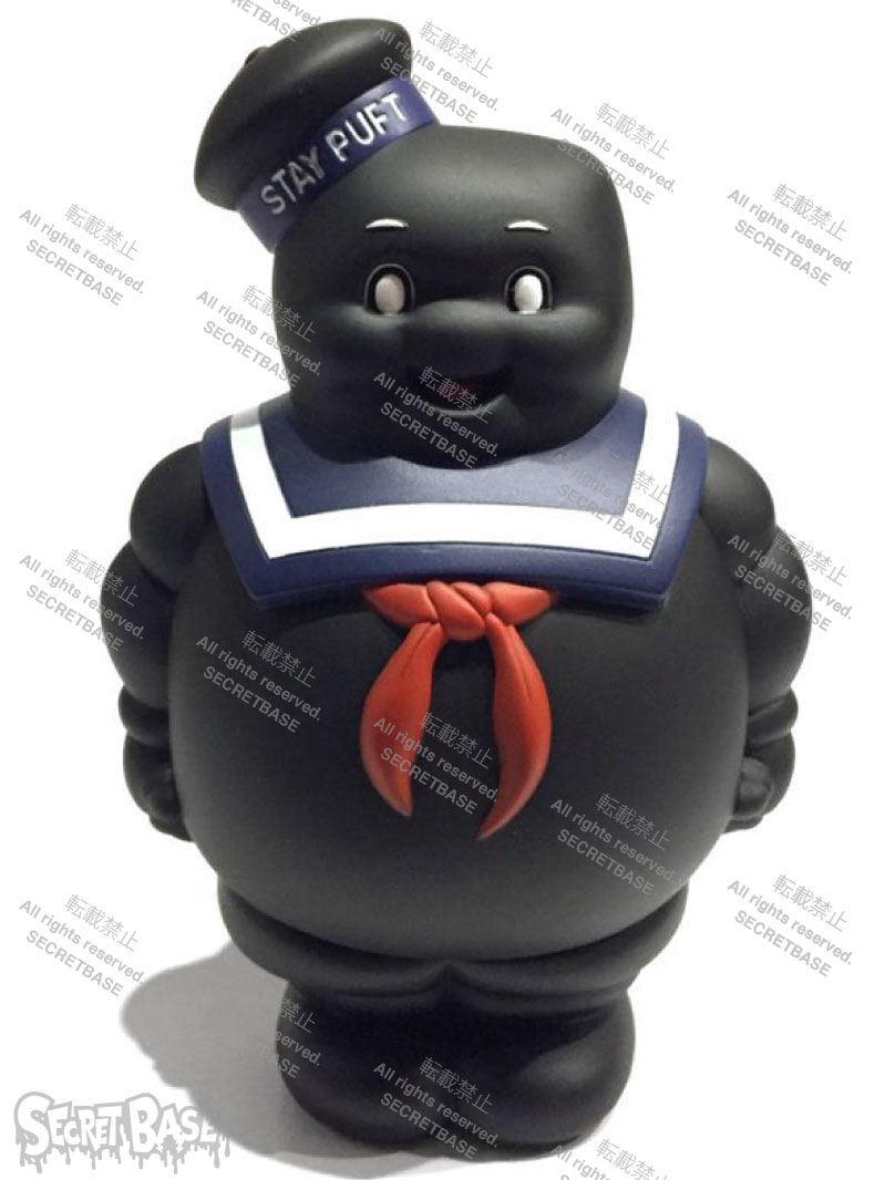 画像1: MARSHMALLOW MAN FULL COLOR BLACK (RESTOCKED) (1)