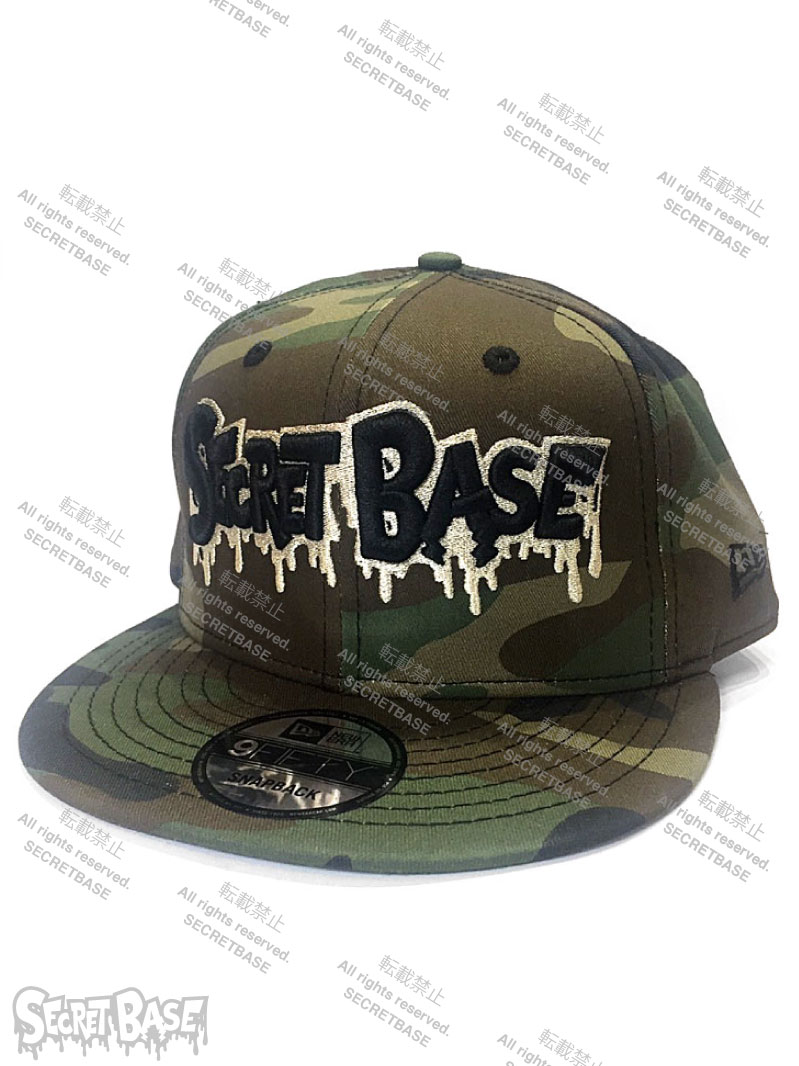 画像1: New Era × SECRETBASE 9FIFTY CAP CAMO Ver (1)