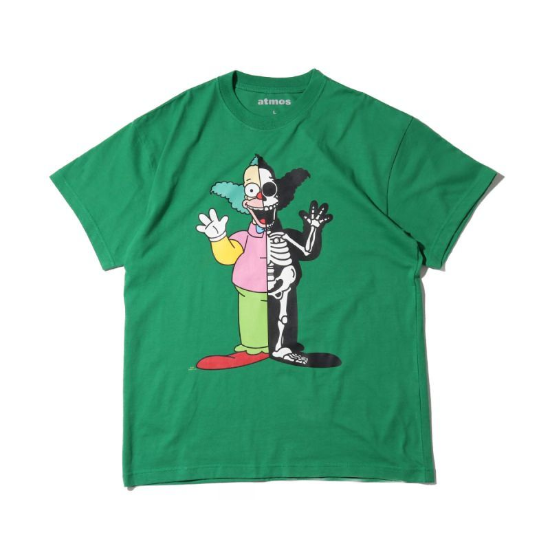 画像1: THE SIMPSONS x SECRET BASE x atmos KRUSTY X-RAY  SS TEE (1)