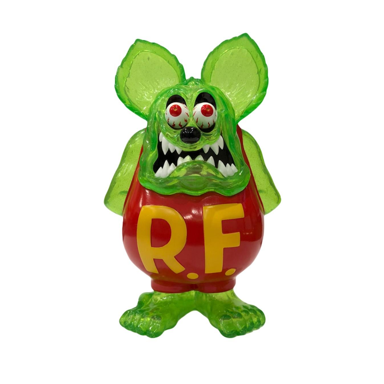 画像1: RAT FINK FULL COLOR GREEN CLEAR with RAME ver. (1)
