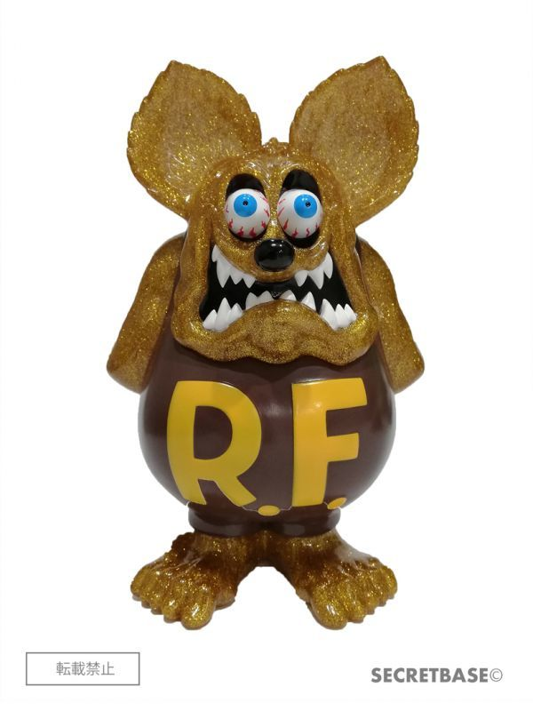 画像1: RAT FINK FULL COLOR GOLD RAME ver. (1)